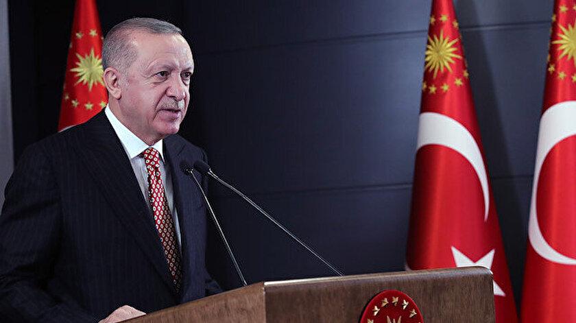 Cumhurbaşkanı Erdoğan: Kardeşlerimiz hizmet almasın diye her türlü iğrençliği sergilediler