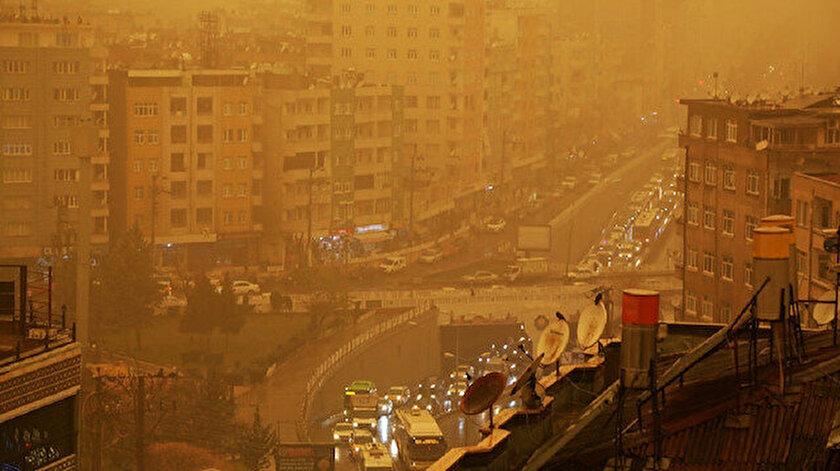Bursada toz taşınımı uyarısı: Pazar akşamına kadar sürecek
