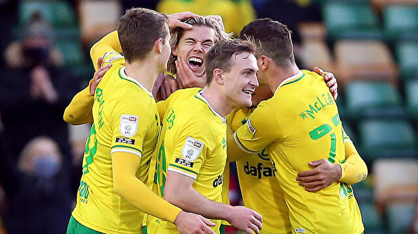 Norwich City Premier Lige geri döndü