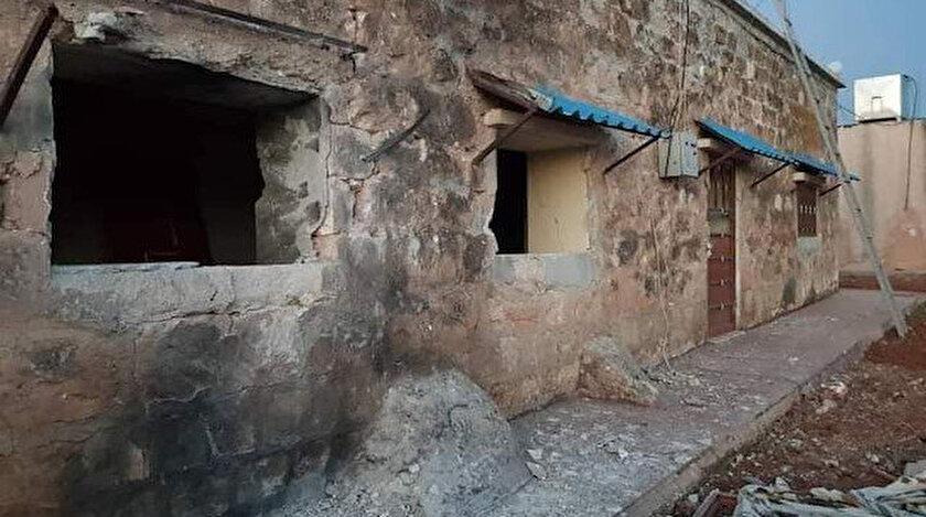 Türk SİHAları PKK elebaşı Öcalanın yaşadığı evi yerle bir etti