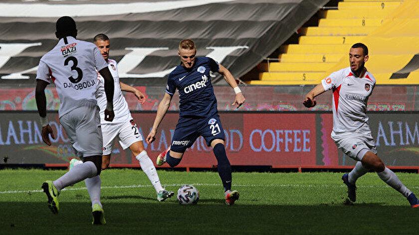 Gaziantep FK-Kasımpaşa maçı kaç kaç bitti