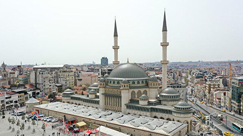 Taksim Camii ne zaman açılıyor?