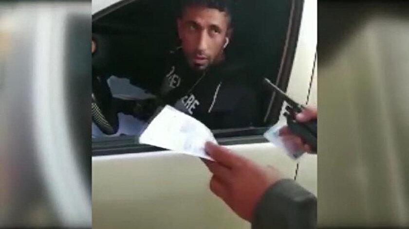 Müşteri gibi davranan sivil polis korsan taksiciyi yakaladı