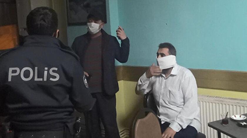 Esenyurtta kahvehane baskınında yakalandı: Polisten korkup tuvalet kağıdından maske yaptı
