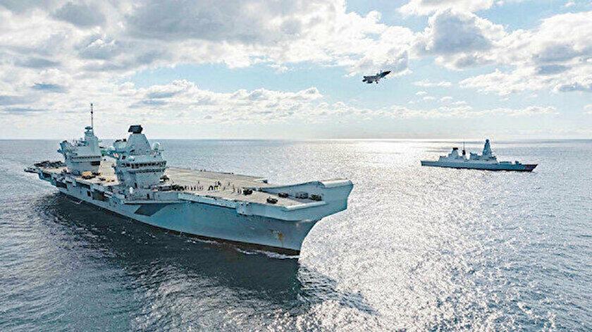 İngiltere savaş gemilerinin Boğazdan geçişi için Türkiyeye bildirimde bulundu