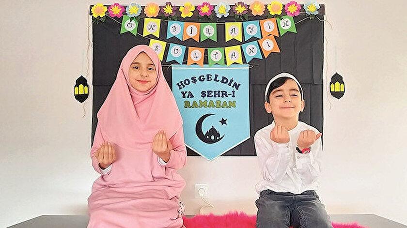 Ramazan coşkusu evlerde