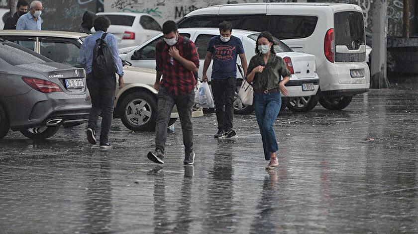Meteorolojiden 44 ile yağış uyarısı! İstanbul, Kayseri, Sivas, İzmir, Manisa, Çankırı hava durumu
