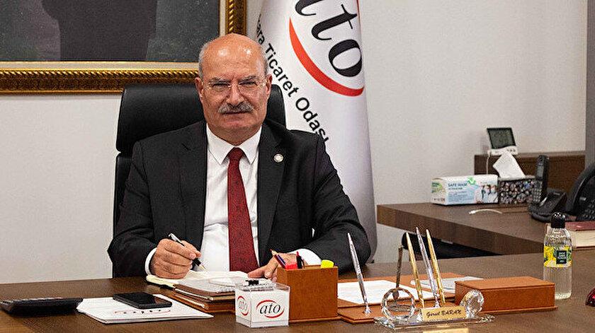 ATO Başkanı Barandan Aşı olan kısıtlamadan muaf olsun çağrısı