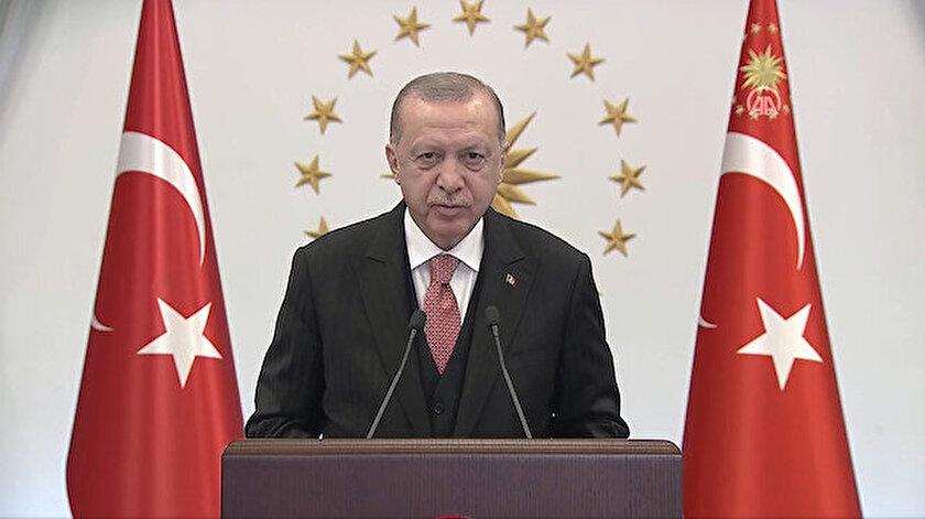 Cumhurbaşkanı Erdoğan: Balkanların huzuru için çabalıyoruz