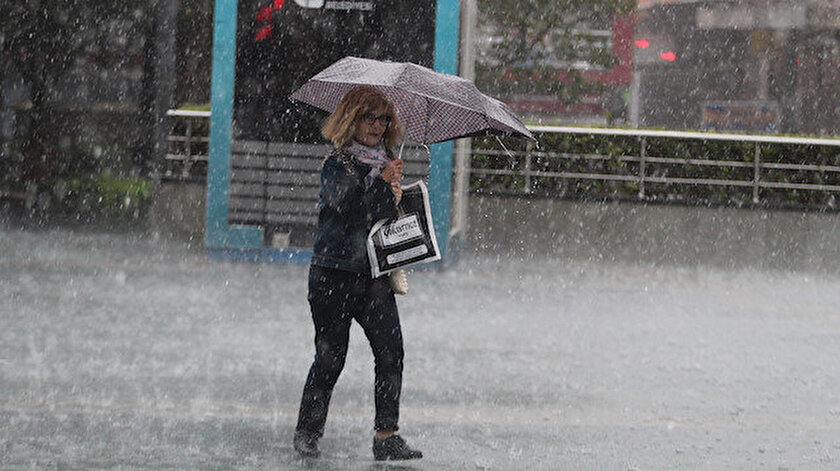 Meteorolojiden çok sayıda il için sağanak yağış uyarısı!
