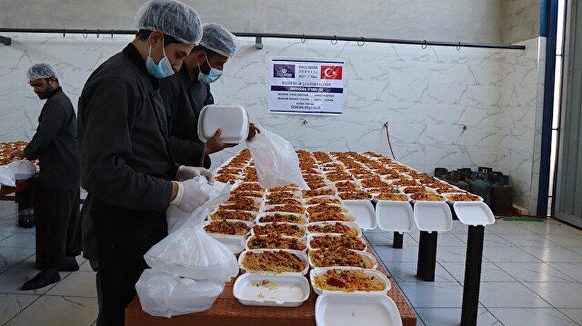 Önce İnsan Derneğinden Türkiye, Suriye ve Afrikada ihtiyaç sahiplerine gıda yardımı