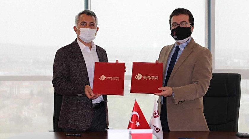 OSTİM Teknik Üniversitesi DERFA Savunma Sistemleri şirketiyle iş birliği protokolü imzaladı