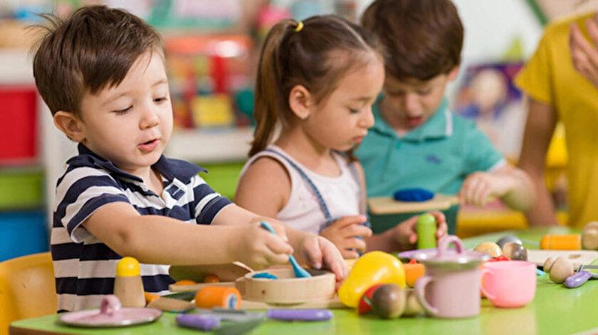 Bakanlık duyurdu: Kısıtlamalardan muaf olan ailelerin çocukları için kreşler açık olacak