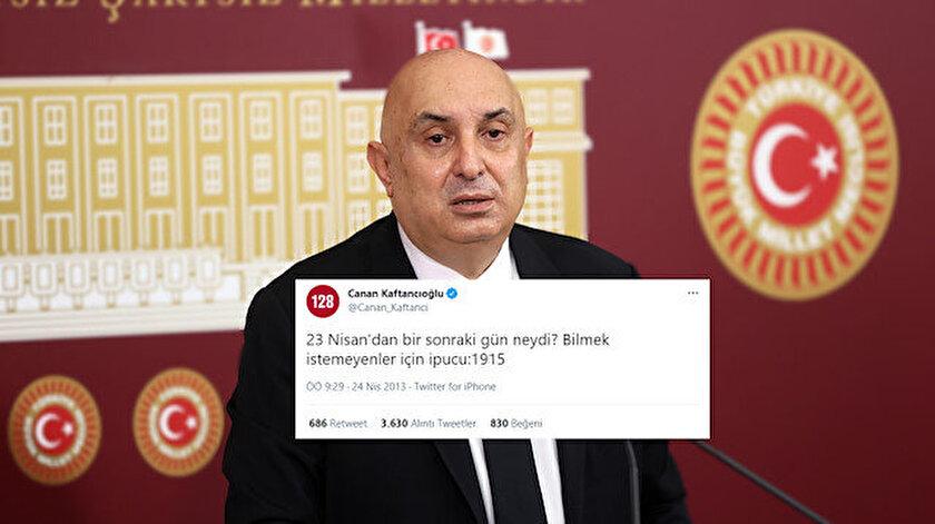 CHPli Özkoç: Kaftancıoğlunun Ermeni soykırımını destekleyen tweeti yok