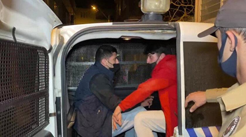 Kısıtlamayı deldiler uyuşturucuyla yakalandılar: Ekmek almaya çıktık yalanını polis yemedi