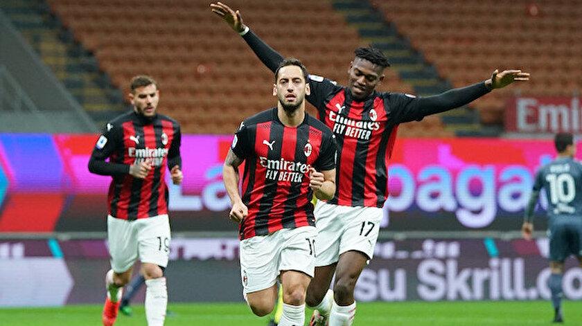 Hakan Çalhanoğlu boş geçmedi, Milan kazandı