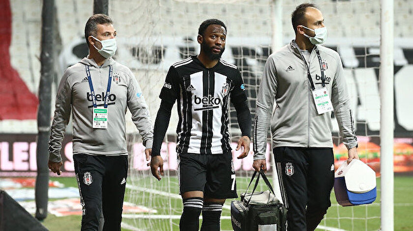 Beşiktaşta N'Koudou'nun sakatlık durumu belli oldu