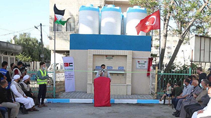 İDDEFin Su Arıtma Projesi Gazzeye umut oldu