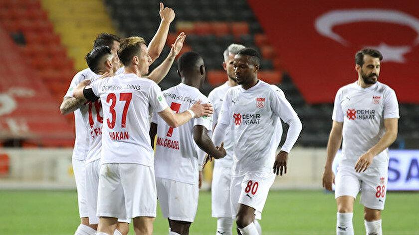 Sivasspor Gaziantepi mağlup etti ve kulüp rekoru kırdı
