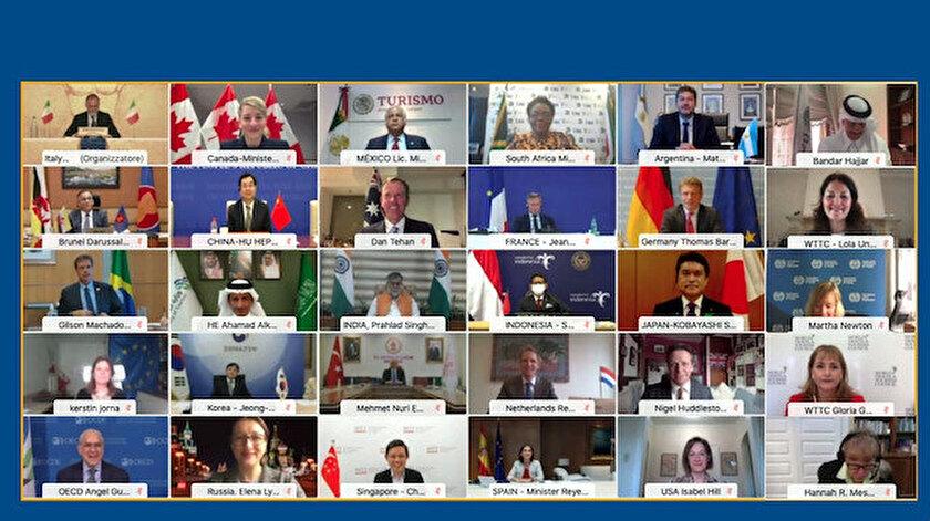 G20 Turizm Bakanları turizmin geleceği için 7 ilke belirledi