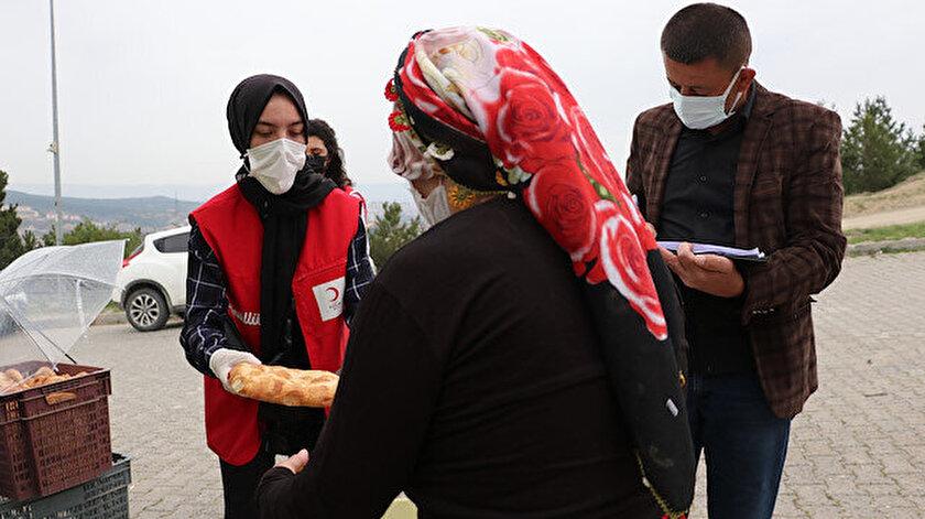 Kastamonuda Türk Kızılay ramazanda 14 bin kişiye yardım ulaştıracak