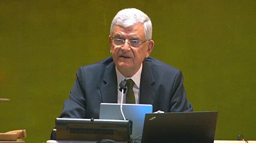 BM 75. Genel Kurul Başkanı Volkan Bozkırdan Suriyeye yardımların devam etmesi çağrısı