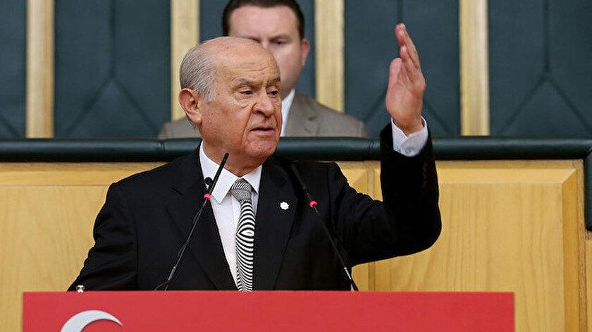 MHP Genel Başkanı Bahçeli: İsrail hükümetini lanetliyorum