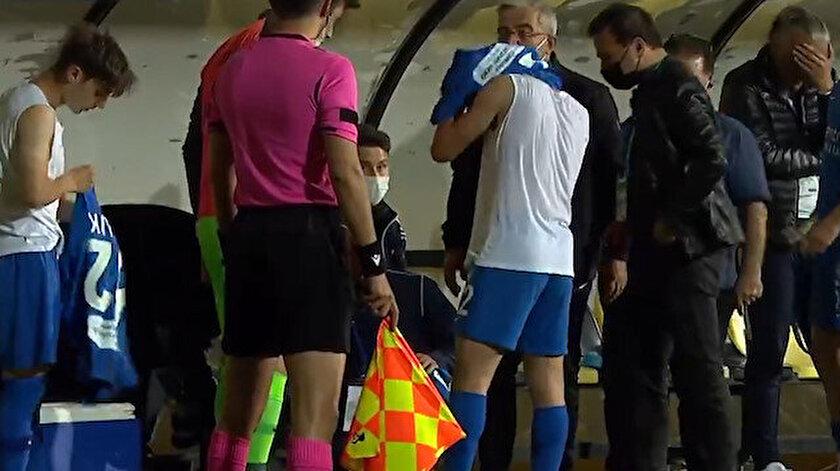 GZT Giresunspor maçında skandal üstüne skandal: Başka oyuncunun formasıyla oynadı