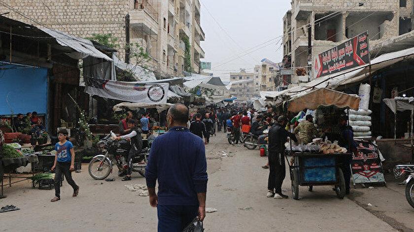 İdlib'te bayram hazırlıkları başladı
