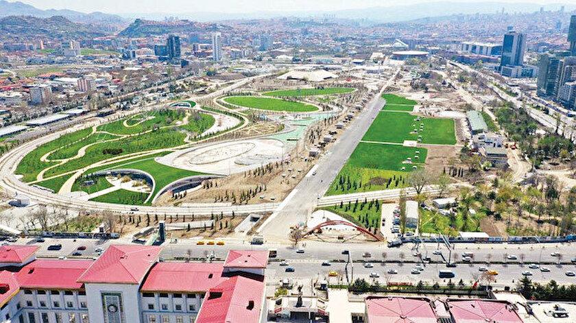 Ankara Millet Bahçesi Ağustosta hazır
