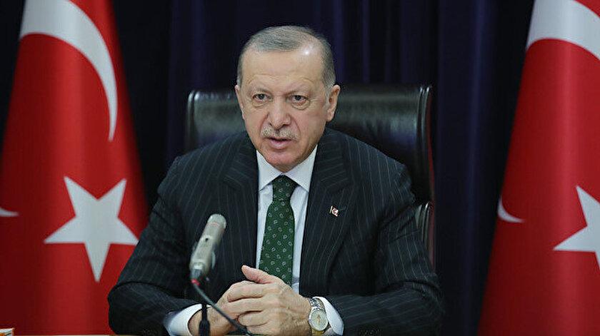 Cumhurbaşkanı Erdoğandan Filistin diplomasisi: Malezya Kralı ve Katar Emiri ile görüştü