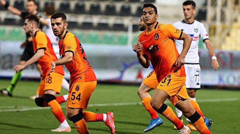 Galatasaray Denizlide kazandı: Aslan şampiyonluk umudunu korudu