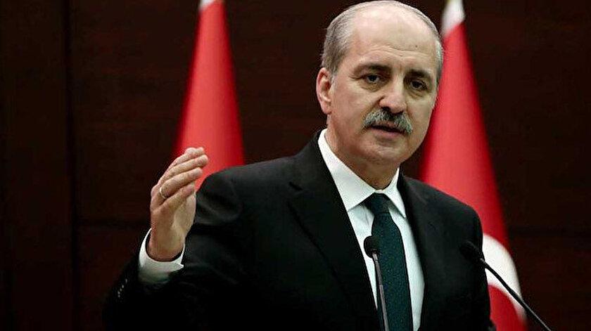 AK Parti Genel Başkanvekili Kurtulmuştan İsraile sert tepki: BM yok hükmündedir çöp tenekesine atılmıştır