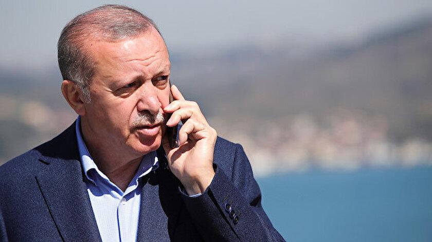 Cumhurbaşkanı Erdoğandan Filistin diplomasisi: 20ye yakın ülkenin devlet ve hükümet başkanıyla telefon görüşmesi yaptı