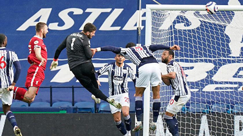 Liverpool kalecisi Alisson Beckerden sosyal medyayı sallayan gol