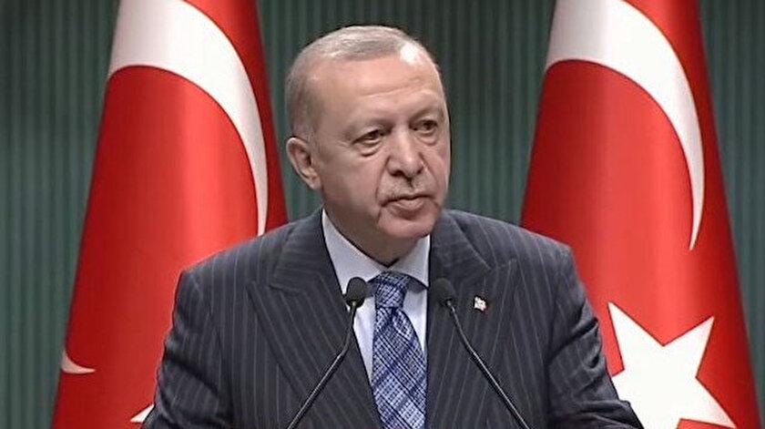 Cumhurbaşkanı Erdoğan Kabine toplantısı sonrası konuşuyor   Canlı yayın   Hangi meslek gruplarına ne kadar ödeme yapılacak?