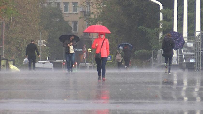 36 ile yağış bekleniyor! Meteoroloji Sakarya, Van, İstanbul, Trabzon, Rize hava durumu