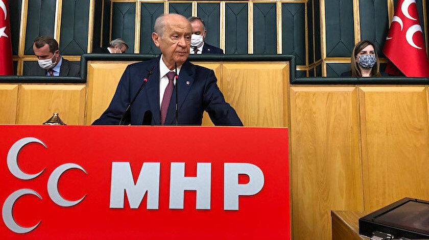 MHP Genel Başkanı Bahçeli: PKKyı devlet yönetimine mi sokacaksınız
