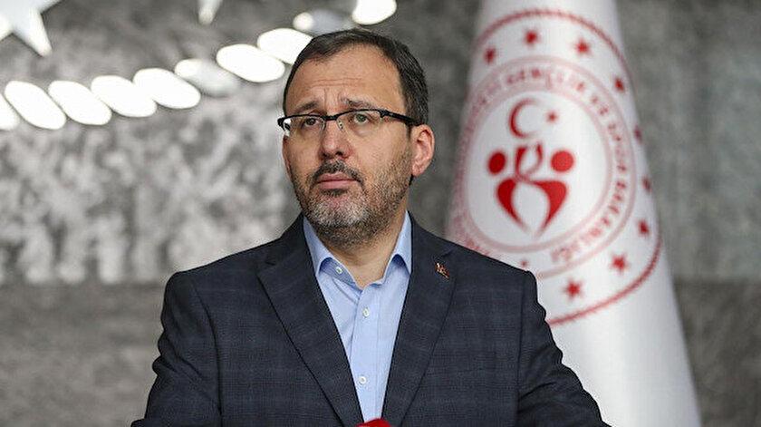 Bakan Kasapoğlu müjdeyi verdi: 8 bin sporcuya her ay harçlık verilecek