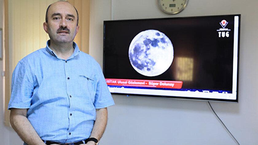 Prof. Dr. Özdemir: Kanlı Ay ve Süper Ay yanlış anlaşılıyor