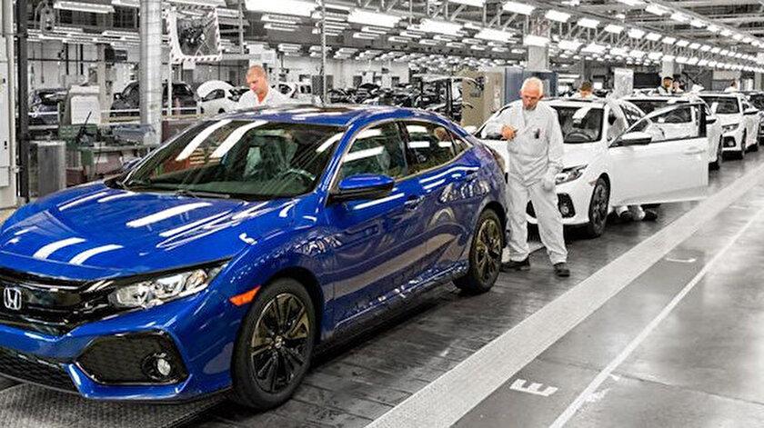 Toyota ve Honda tam kapanma kararı alan Malezyada üretimi geçici olarak durdurdu