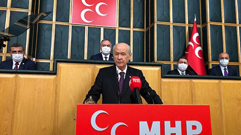 Devlet Bahçeli: Erken seçim bazı ülkelerin örtülü operasyonudur