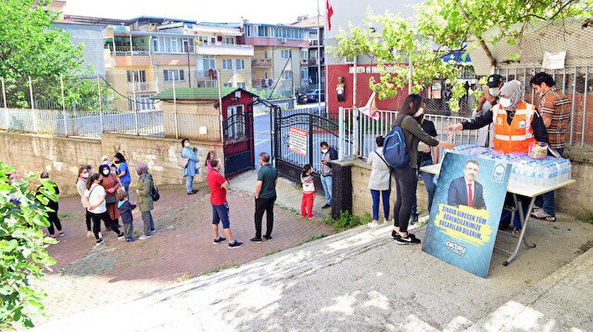 Yıldırım Belediyesi LGSde öğrencileri yalnız bırakmadı