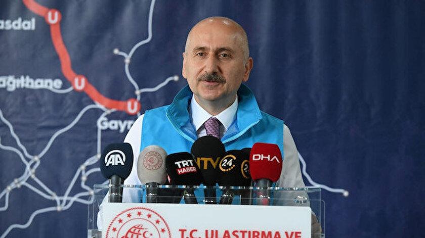 Ulaştırma ve Altyapı Bakanı Karaismailoğlu: Kanal İstanbul müsilajı azaltır