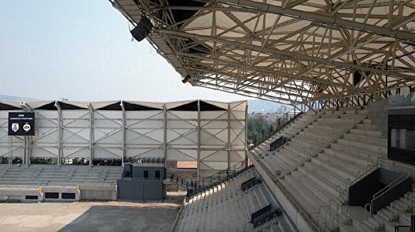 Alsancak Stadı kapılarını açmak için gün sayıyor