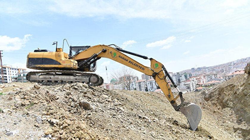 Mamak Belediyesi tüm mahallelerde hizmette: Yollar açılıyor trafik rahatlıyor