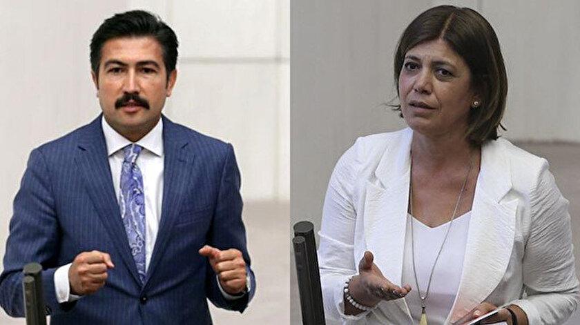 AK Partili Özkan Şehit Aybüke Yalçını anınca HDPli Beştaş sataşma var dedi