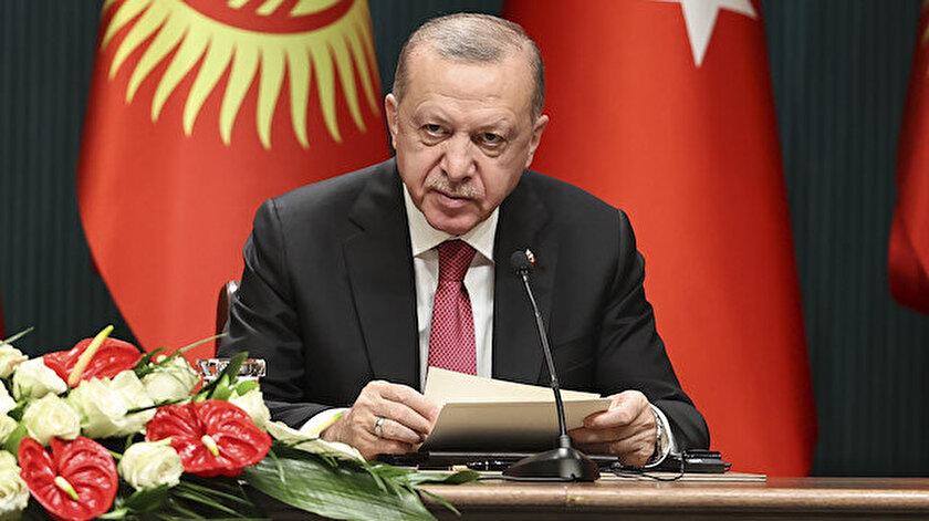 Cumhurbaşkanı Erdoğandan FETÖ uyarısı: Kırgızistan için de büyük bir tehdit