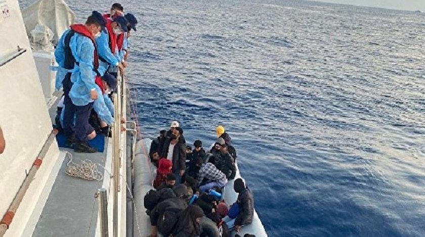 İzmir haberleri: Yunanistanın ölüme ittiği 31 kaçak göçmen daha kurtarıldı