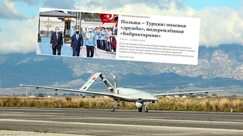 Rus basını Türkiyenin Polonyaya SİHA satmasını tehlikeli buldu: Çıkar bağları yeniden kuruluyor